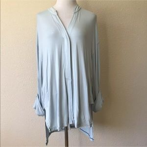 NWT free people oversized lagen blouse